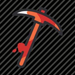 axe, building, construction, pick, tool icon