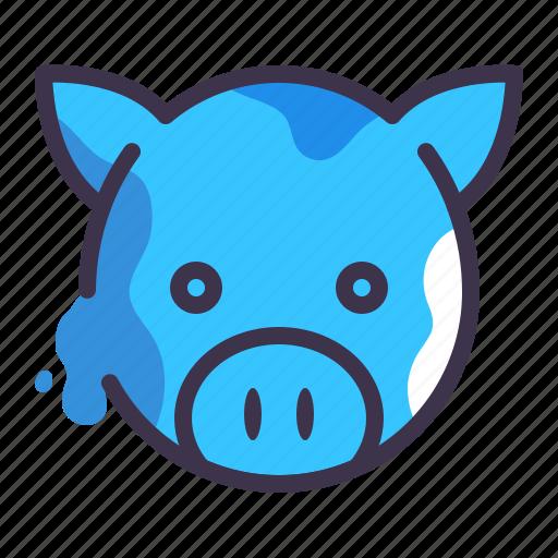 animal, bank, farm, money, pig icon