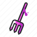 equipment, fork, pitchfork, rake, repair, tool icon