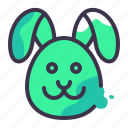 animals, domestic, mammal, nature, pet, pets, rabbit icon