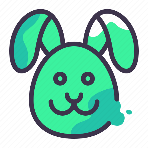 animals, domestic, mammal, nature, pet, pets, rabbit icon