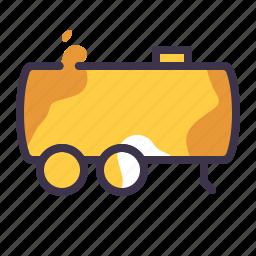 cargo, delivery, tank, truck, van icon