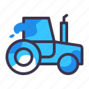 tractor, construction, equipment, transportation, truck, vehicle