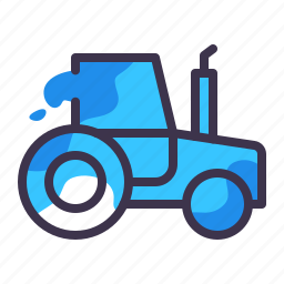 construction, equipment, tractor, transportation, truck, vehicle icon
