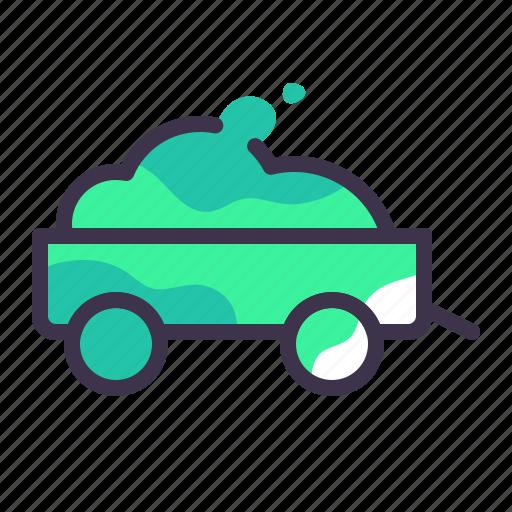 caravan, delivery, trailer, transport, transportation, van icon