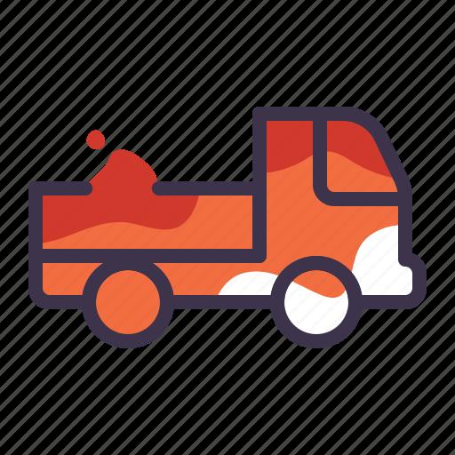 car, shipping, transport, transportation, truck, vehicle icon