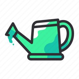 can, container, gardening, water, watering icon