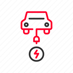 automobile, car, charge, charger, charging, electric, recharge icon