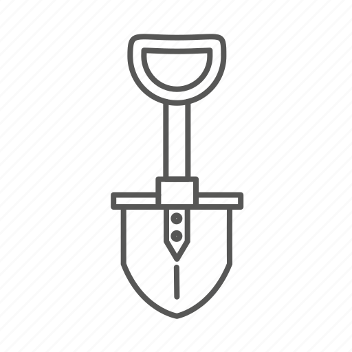 bulding, dig, renovation, repair, shovel, spade, tool icon