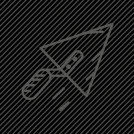 renovation, repair, spatula, tool icon