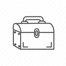 bag, box, case, suitcase, tools icon