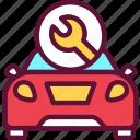 repair, car, transport, vehicle