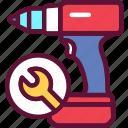 repair, drill, tool, instrument