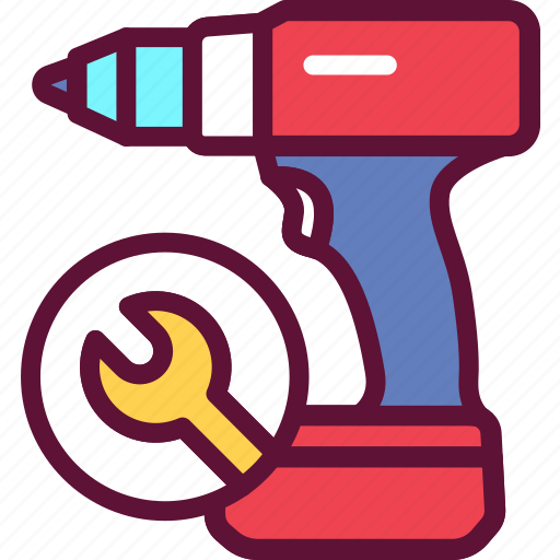 Repair, drill, tool, instrument icon - Download on Iconfinder