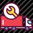 repair, truck, transport