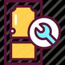 repair, install, door