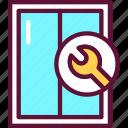repair, install, window