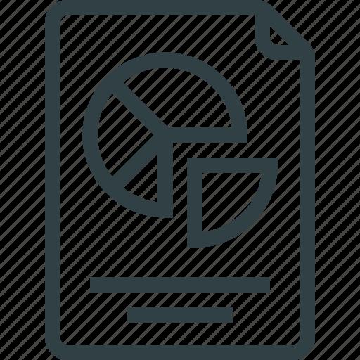 diagram, infographic, report, schedule icon