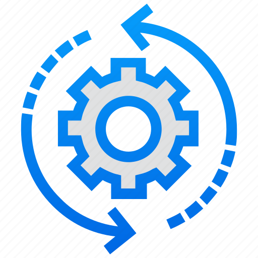 initializing, perform, processing, refresh, reload icon
