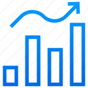 business loss, decreasing chart, financial performance, loss chart, loss graph icon