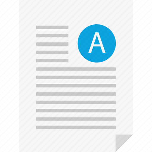 a, layout, letter, page, report, reports, sign icon