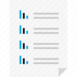 bars, business, layout, online, page, report, reports icon