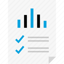 bars, data, layout, mark, page, report, reports icon