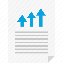 arrow, business, layout, page, report, reports, up icon