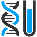 dna code, engineering, experiment, genetic analysis, genom, helix, science icon