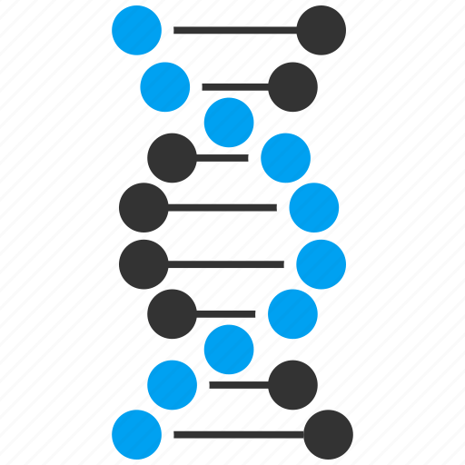 biotech, dna molecule, genetic engineering, genetics, genome, helix, spiral icon