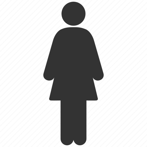female, feminine, gender, girl, human, lady room, woman profile icon