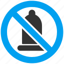 condom, forbidden, preservative, preserve, prohibited, restricted, rubber icon