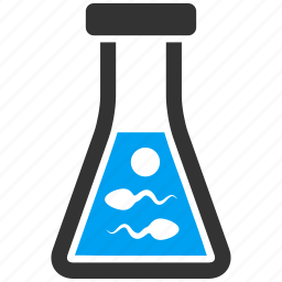 chemical, chemistry, container, flask, laboratory, retort, sperm icon