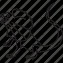 animal, australia, australian, frill, frill-necked, frill-necked lizard, lizard icon