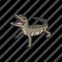 alligator, animal, baby alligator, gator, hatchlings, predator, reptiles icon