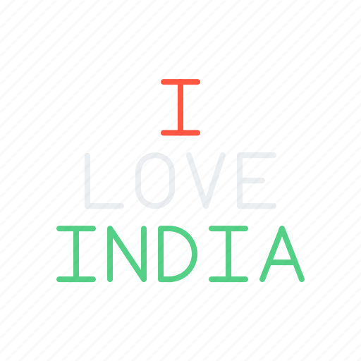care, heart, india, indian, love, national, republic icon