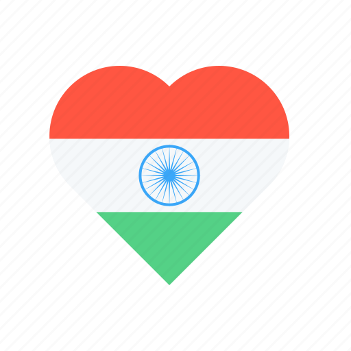 Day, heart, india, national, republic, tiranga, tricolour icon - Download on Iconfinder