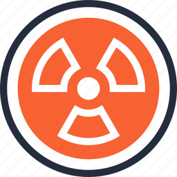 danger, energy, nuclear, power, radiation, radioactivity, toxic icon