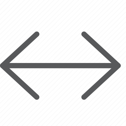 arrow, expand, horizontal, maximize, move, resize, sides icon