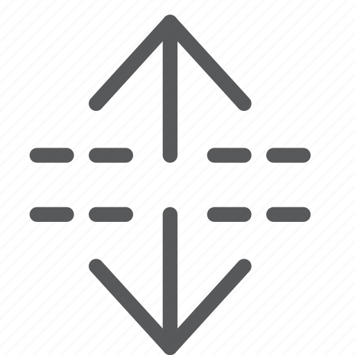 arrow, expand, maximize, move, resize, scroll, vertical icon