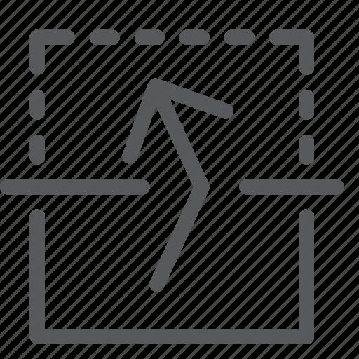 arrow, flip, move, resize, transform, up, vertical icon