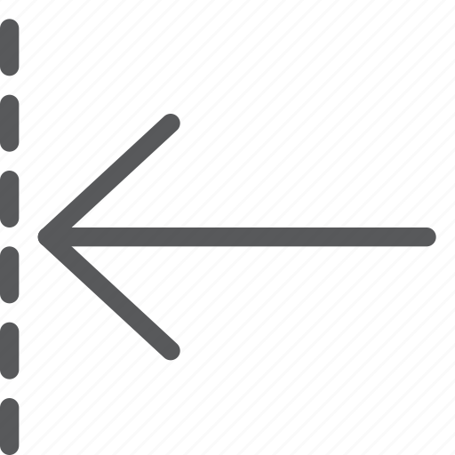 arrow, back, backwards, before, left, move, previous, resize icon