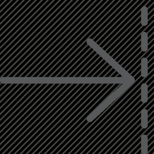 arrow, forward, move, next, resize, right icon
