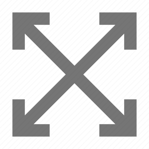 all direction, arrows, expand icon