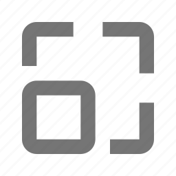 expand, restore icon