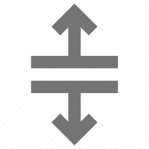 arrows, expand, vertical icon