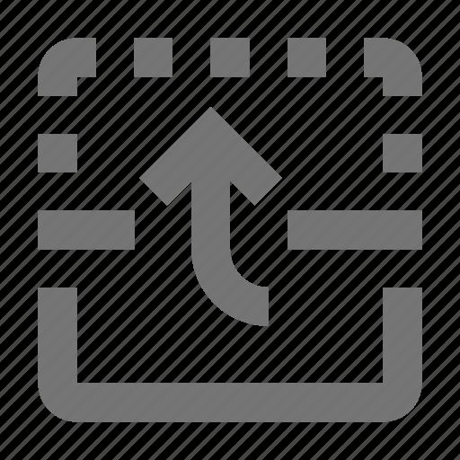 action, arrow, control, design, flip, software, tool, up icon