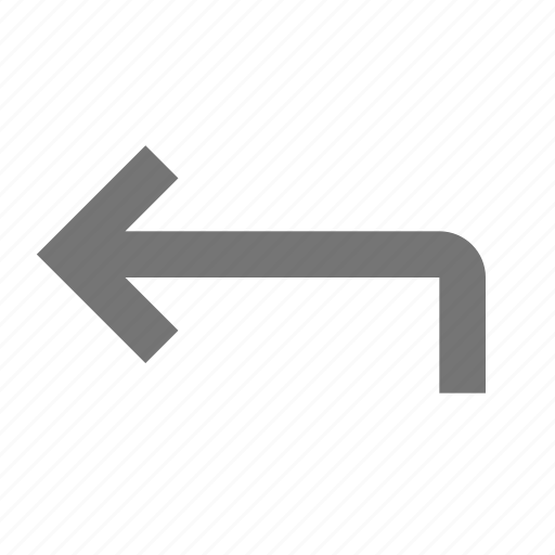 action, arrow, back, control, design, move, software, tool icon