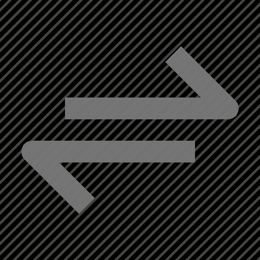 left, move, right icon