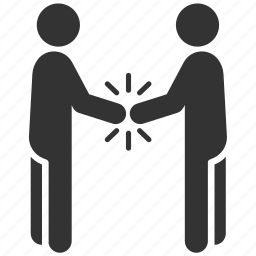 cooperate, deal, friend, greet, greeting, respect, shake hands icon